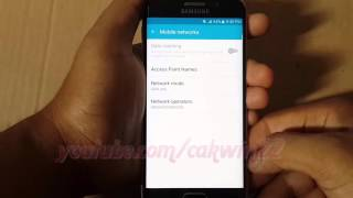 Samsung Galaxy S6 Tips : How to Set 4G LTE/WCDMA/GSM auto connect on Android Network Mode