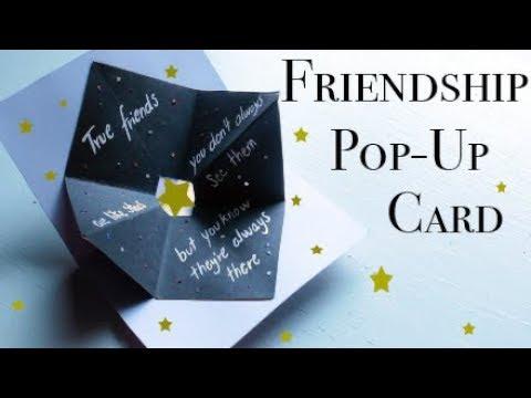 Xxx Mp4 Friendship Pop Up Card EASY DIY 3gp Sex