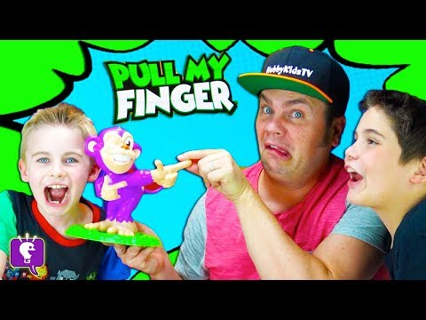 Xxx Mp4 Pull My Finger Monkey Game HobbyFamily Game Night By HobbyKidsTV 3gp Sex