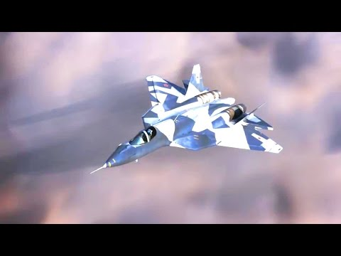 watch Rostec - T-50 Pak Fa Stealth Fighter Electronic Warfare Technology [720p]