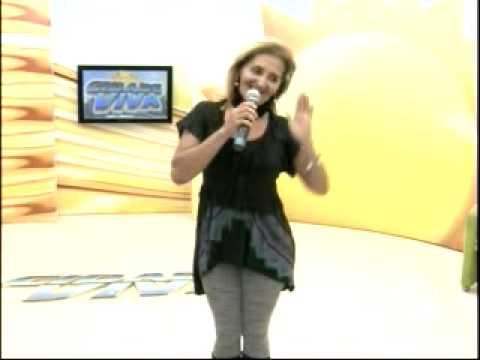 Nayra Lima estrela da música brega participa do programa Cidade Viva