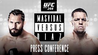 UFC 244: Press Conference