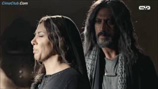 مشهد للفنانة مارغو حداد في مسلسل مالك بن الريب 1