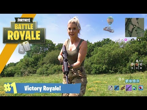 Airsoft War Fortnite Battle Royale in Real Life TrueMOBSTER