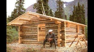 Dick Proenneke in Alone in the Wilderness