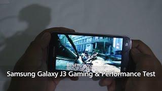 Samsung Galaxy J3 2016 Gaming Review - FIFA 16, Real Racing 3, NOVA 3, Antutu
