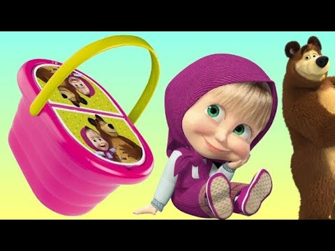 Xxx Mp4 Masha And The Bear PICNIC Basket Play Doh Toy Set 3gp Sex