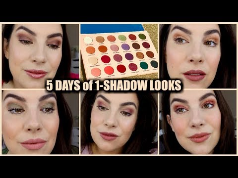 5 ONE SHADOW LOOKS with The Wants Palette Revolution X Emily