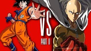 Goku Vs Saitama Rap Battle Part II (One Punch Man)   Daddyphatsnaps