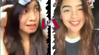 Andrea Brillantes VS. Krishna Johnson ''DYOSA'' DUET Musical.ly Video