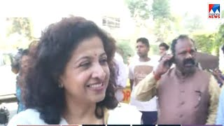 വിമതരും  സ്വതന്ത്രരും ഒപ്പം നില്ക്കുമെന്ന് മധ്യപ്രദേശ് കോണ്ഗ്രസ് വക്താവ് ശോഭ ഓജ | Shobha ojha