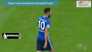 هدف نبيل بن طالب الصاروخي مع شالكة أحسن هدف في الدوري الألماني  لسنة 2016 2017