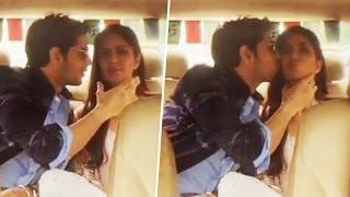 Sidharth Malhotra SPOTTED KISSING Katrina Kaif In Car