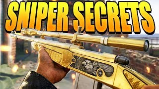 COD WW2 Secrets for Snipers! (How to get Aim Assist) | Class Setups for Sniper Montage Type Gameplay