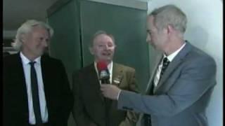Wimbledon 2009 - McEnroe asks Bjorn, Laver, and Sampras whether Federer is the greatest ever