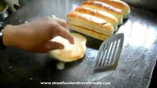 Indian Style Burger & Hotdog | Indian Street Food Video 14
