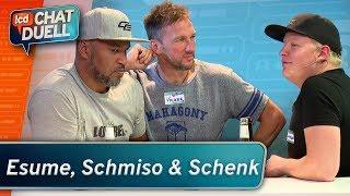 Chat Duell #08   Patrick Esume, Volker Schenk & Schmiso gegen Team Bohnen
