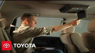 2007 - 2009 Tundra How-To: Rear-Seat Entertainment - Basic Operation | Toyota