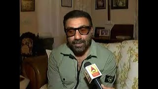 Sunny Deol expresses joy as he leads with 50 thousand votes in Gurdaspur