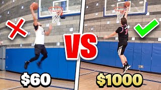 $60 BASKETBALL SHOE Vs. $1000 BASKETBALL SHOE
