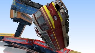 VIDS for KIDS in 3d (HD) - Train Collisions for Children ep.2  - AApV