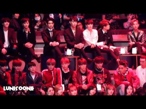 [FULL] BTS GOT7 NCT TWICE ect. Reaction to EXO in MAMA 2016