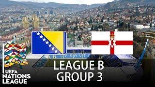 Bosnia & Herzegovina vs Northern Ireland - 2018-19 UEFA Nations League - PES 2019
