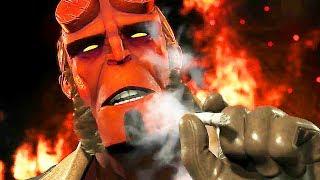 Injustice 2 - Raiden, Hellboy, Black Manta DLC Trailer