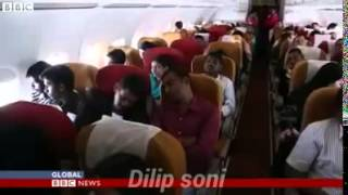 BBC went right on ground with an Air India plane to cover India's successful Yemen rescue operation