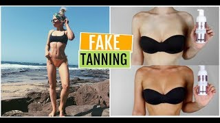 EXFOLIATE OFF & APPLY A FLAWLESS TAN! (Loving Tan) ♡ Natalie Boucher