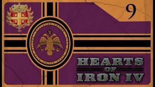 Hearts of Iron IV Byzantine Challenge - Fascist Greece #9 - World War 2