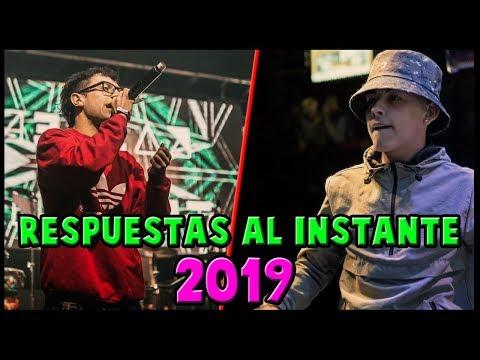 Las MEJORES RESPUESTAS al MOMENTO de lo que va del AÑO 2019 Batallas De Rap