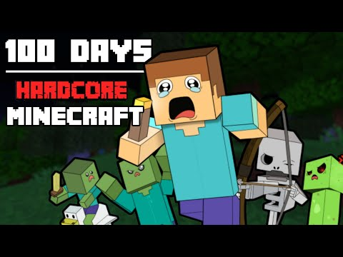 I Survived Hardcore Minecraft For 100 Days And This Is What Happened