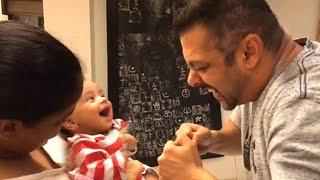 Salman Khan's CUTE Sultan Fight With Arpita Khan's Son Ahil