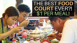 THE BEST FOOD COURT EVER? ($1 PER MEAL)
