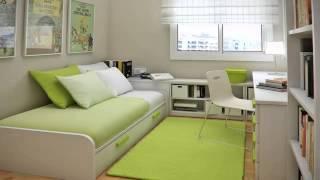 افكار للغرف الضيقة Ideas for narrow rooms