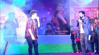 SOumen Choudhary Performing a Bengali no. with Dancer Faisal Khan
