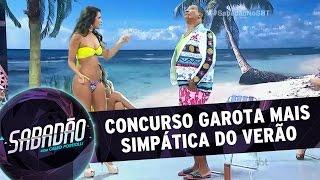 Sabadão com Celso Portiolli (30/01/16) - Concurso A Garota Mais Simpática do Verão