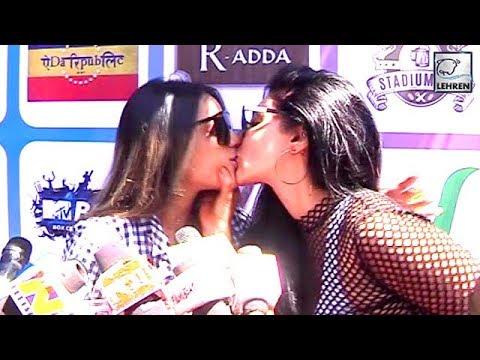 Xxx Mp4 Nia Sharma KISSING Ishqbaaz Actress Reyhna Pandit In Public Video Goes VIRAL 3gp Sex