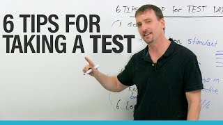 My 6 TOP tips for taking tests and exams