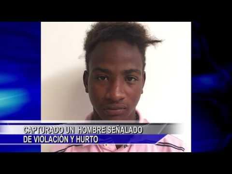 CAPTURADO UN HOMBRE SEÑALADO DE VIOLACIÓN Y HURTO