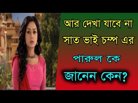 Xxx Mp4 সাত ভাই চম্পা ধারাবাহিবকে আর দেখা যাবে না পারুল কে জানেন কেন Actress Pramita Chakraborty News 3gp Sex