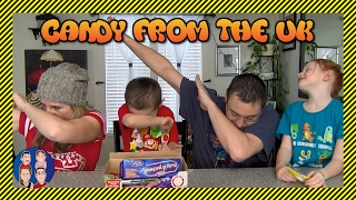 Trying Candy from the UK with G Rated Family Gaming in 4K - Dip Dabs, Flumps, Jaffa Cakes and More!