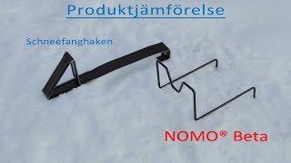 NOMO® BETA SNÖRASSKYDD | Produktjämförelse