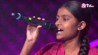 Pooja Insa - Blind Audition - Episode 1 - July 23, 2016 - The Voice India Kids