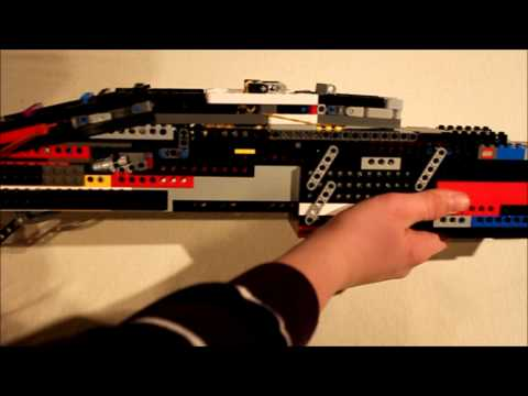 Phill´s Lego Spas 12 2nd build working brickshooting
