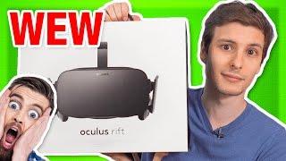 Oculus Rift: The BEST Packaging Ever