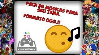 Pack de musicas ogg para seu tema personalizado / recalbox/ Batocera