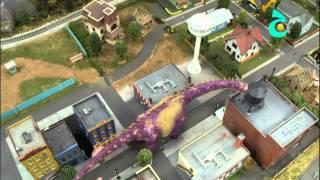 قطار الديناصورات