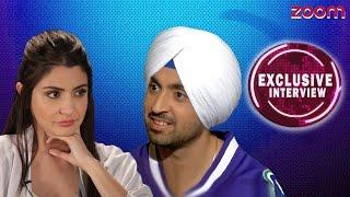 Anushka Sharma & Diljith Dosanjh Exclusive Interview - zoom